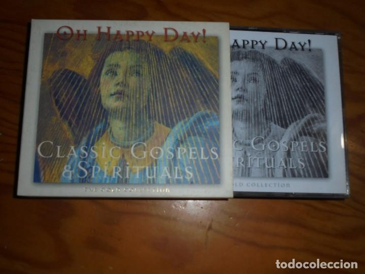 OH HAPPY DAY ¡ CLASSIC GOSPELS & SPIRITUALS. THE GOLD COLLECTION. 2 CD´S + LIBRETO. IMPECABLE (Música - CD's Jazz, Blues, Soul y Gospel)