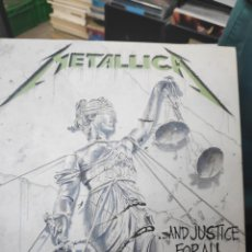 CDs de Música: METALLICA AND JUSTICE FOR ALL SPECIAL EDITION 3 CDS. Lote 169871148