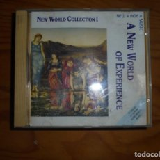 CDs de Música: A NEW WORLD OF EXPERIENCE. NEW AGE. CD.. Lote 169873148