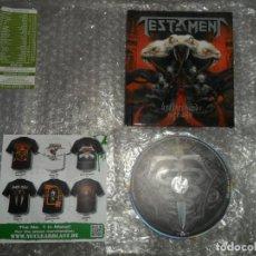 CDs de Música: TESTAMENT - BROTHERHOOD OF THE SNAKE ( LIMITED DIGIBOOK ) CD. Lote 169891044