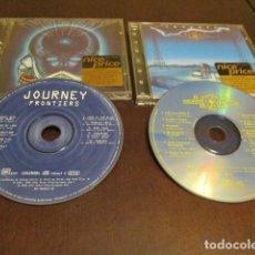 CDs de Música: JOURNEY - 2 CD - FRONTIERS - RAISED ON RADIO - EDICIONES REMASTERIZADAS. Lote 169906140