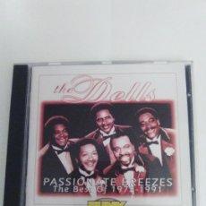 CDs de Música: THE DELLS PASSIONATE BREEZES THE BEST OF 1975 - 1991 ( 1995 MERCURY ) EXCELENTE ESTADO. Lote 169936952