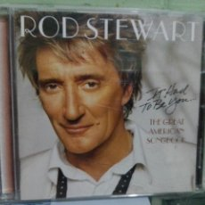 CDs de Música: ROD STEWART - IT HAD TO BE YOU... THE GREAT AMERICAN SONGBOOK - CD PEPETO. Lote 169937020