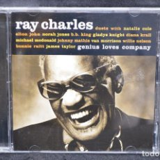 CD di Musica: RAY CHARLES - GENIUS LOVES COMPANY - CD. Lote 169974460