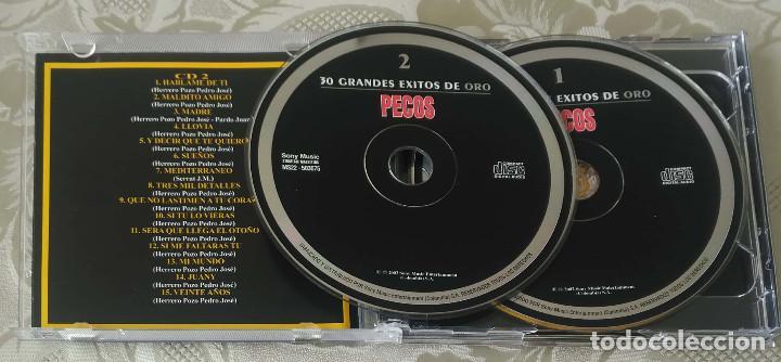 CDs de Música: PECOS (30 GRANDES EXITOS DE ORO) 2 CDs 2002 COLOMBIA - Foto 3 - 170007224