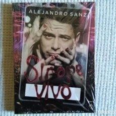 CDs de Música: ALEJANDRO SANZ - '' SIROPE VIVO '' 3 CD + DVD DIGIPAK SPAIN 2015 SEALED. Lote 170020892