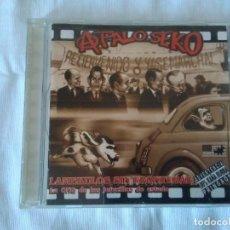 CDs de Música: 85-CD APALOSEKO, LAMEKULOS SIN FRONTERAS, 2003. Lote 170028768