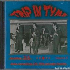 CDs de Música: VARIOS CD TRYP IN TIME CD 1996 , 60S USA GARAGE (25 TRACKS) -CAVEMEN (COMPRA MINIMA 15 EUR). Lote 170033208