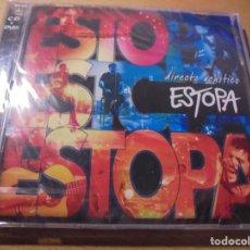CDs de Música: RAR CD & DVD. ESTOPA. DIRECTO ACÚSTICO. SEALED. PRECINTADO. Lote 170040148