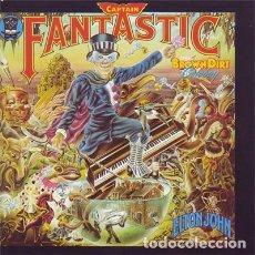 CDs de Música: ELTON JOHN- CAPTAIN FANTASTIC AND THE BROWN DIRT COWBOY CD CON BONUS TRACK. Lote 170049336