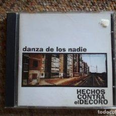 CDs de Música: HECHOS CONTRA EL DECORO , DANZA DE LOS NADIE , CD 1998 PERFECTO ESTADO ENVIO ECONOMICO. Lote 170086432