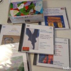 CDs de Música: CLÁSICOS DEL SIGLO XX. 5 CD -SET. LOS CDS NUEVOS CON SU PLÁSTICO.. Lote 170096388