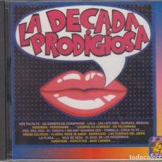 CDs de Música: LA DÉCADA PRODIGIOSA CD 1995 SERIE DIFUSIÓN. Lote 170102516
