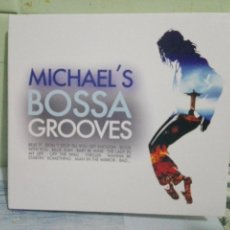 CDs de Música: MICHAEL`S BOSSA / MICHAEL JACKSON ) GROOVES DOBLE CD CARPETA ABIERTA NUEVO¡¡. Lote 170108160