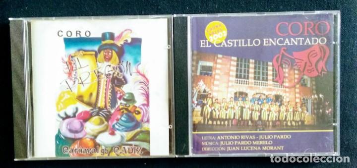 LOTE CD JULIO PARDO CARNAVAL CÁDIZ (Música - CD's Flamenco, Canción española y Cuplé)