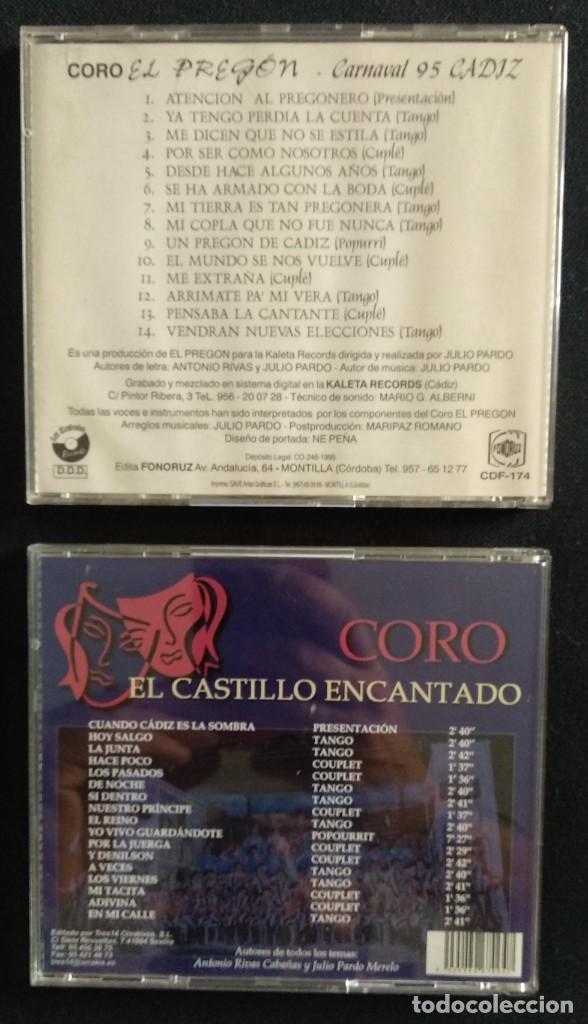 CDs de Música: Lote CD Julio Pardo CARNAVAL CÁDIZ - Foto 2 - 170111944