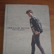 CDs de Música: ABRAHAM MATEO, ARE YOU READY? LIBRO +CD. Lote 170189868