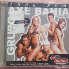 CDs de Música: AXÉ BAHIA - TUDO BEM (DEBAILE MUXXIC, 2003) /// SAMBA / AXÉ / FORRÓ / BOSSA NOVA / REGGAETON / SALSA. Lote 170254600