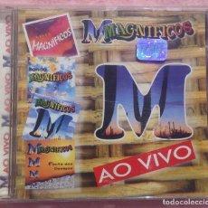 CDs de Música: MAGNIFICOS - AO VIVO (OASIS) /// ED. BRASIL ORIGINAL, RARO /// SAMBA / AXÉ / FORRÓ BOSSA NOVA SALSA. Lote 170259972