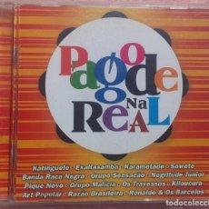 CDs de Música: PAGODE NA REAL (SOM LIVRE, 2004) /// ED. BRASIL ORIGINAL, RARO /// SAMBA / AXÉ / FORRÓ / BOSSA NOVA. Lote 170271868