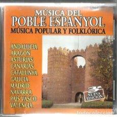 CDs de Música: CD MUSICA DEL POBLE ESPANYOL / MUSICA POPULAR Y FOLKLORICA . Lote 170272908