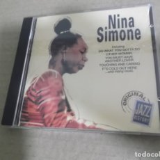CDs de Música: NINA SIMONE (CD) ORIGINAL JAZZ HISTORY AÑO – 1994. Lote 170302380