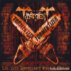 CDs de Música: TORMENT - TORMENTATION - 2XCD LIMITED EDITION 20TH ANNIVERSARY SPECIAL EDITION. Lote 170304292