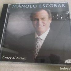 CDs de Música: MANOLO ESCOBAR (CD) TIEMPO AL TIEMPO AÑO – 1994. Lote 170309896