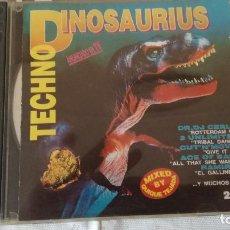 CDs de Música: 67-TECHNO DINOSAURIUS, 2 CDS, 1993. Lote 170320600