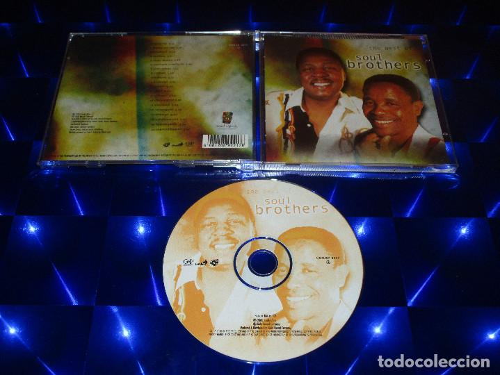 THE BEST OF SOUL BROTHERS - CD -CDGSP 3022 (Música - CD's Jazz, Blues, Soul y Gospel)