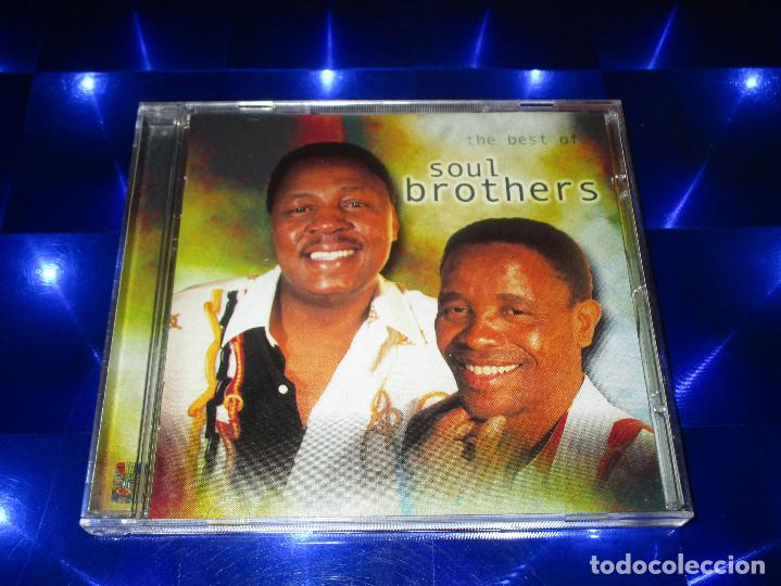CDs de Música: THE BEST OF SOUL BROTHERS - CD -CDGSP 3022 - Foto 2 - 170343348