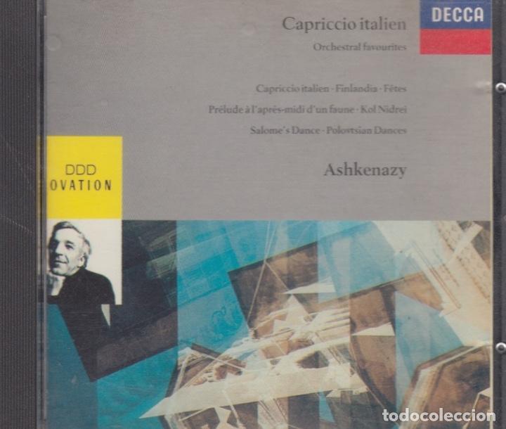 CAPRICCIO ITALIEN. VLADIMIR ASHKENAZY (Música - CD's Clásica, Ópera, Zarzuela y Marchas)
