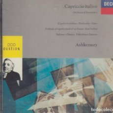 CDs de Música: CAPRICCIO ITALIEN. VLADIMIR ASHKENAZY. Lote 170359744