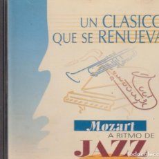 CDs de Música: MOZART A RITMO DE JAZZ. THOMAS HARDIN TRIO. Lote 170359824