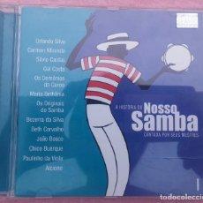 CDs de Música: A HISTÓRIA DO NOSSO SAMBA CANTADA POR SEUS MESTRES, VOL. 1 (BMG, 2002) // ED. BRASIL ORIGINAL, RARO. Lote 170362292