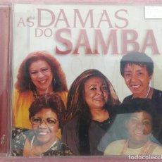 CDs de Música: AS DAMAS DO SAMBA (INDIE RECORDS, 2002) /// ED. BRASIL ORIGINAL, RARO /// FORRÓ / AXÉ / BOSSA NOVA. Lote 170362468