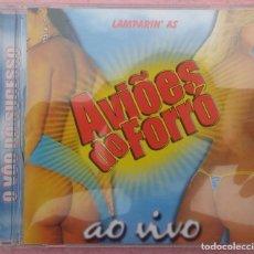 CDs de Música: AVIOES DO FORRÓ - AO VIVO (2003) /// ED. BRASIL ORIGINAL, RARO /// SAMBA / AXÉ / BOSSA NOVA / SALSA. Lote 170362620