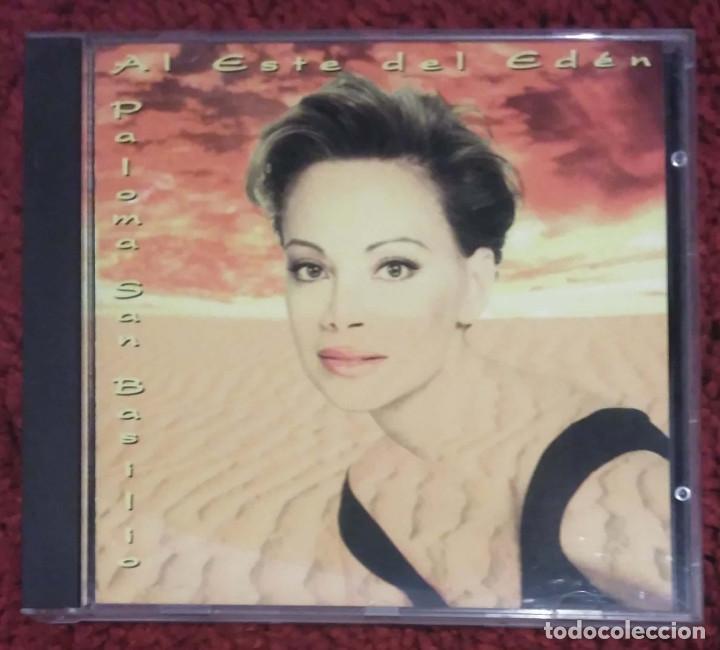 PALOMA SAN BASILIO (AL ESTE DEL EDEN) CD 1994 EDICIÓN EMI LATIN (Música - CD's Melódica )