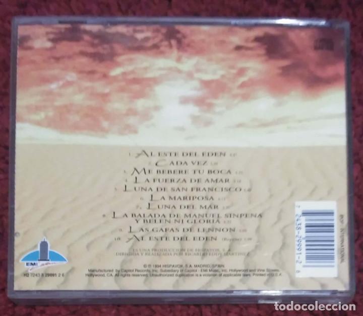 CDs de Música: PALOMA SAN BASILIO (AL ESTE DEL EDEN) CD 1994 Edición EMI LATIN - Foto 2 - 170362688