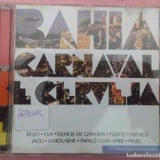 CDs de Música: BAHIA, CARNAVAL E CERVEJA (ARTENATIVA) /// ED. BRASIL ORIGINAL, RARO /// SAMBA / AXÉ / FORRÓ / BOSSA. Lote 170362764