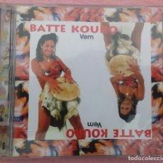 CDs de Música: BATTE KOURO - VEM (NOVODISC MANAUS) /// ED. BRASIL ORIGINAL, RARO /// SAMBA / AXÉ / FORRÓ / BOSSA. Lote 170362920