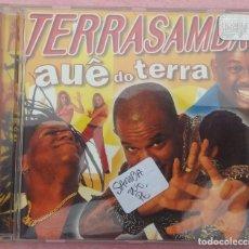 CDs de Música: TERRA SAMBA - AUE DO TERRA (UNIVERSAL MUSIC, 1999) /// ED. BRASIL ORIGINAL, RARO /// FORRÓ AXÉ BOSSA. Lote 170363844