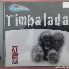 CDs de Música: TIMBALADA – MILLENNIUM, 20 MÚSICAS DO SÉCULO XX (POLYGRAM / MERCURY, 1998) /// ED. BRASIL ORIGINAL. Lote 170364008