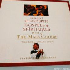 CDs de Música: ESTUCHE 2 CDS GOSPELS Y SPIRITUALS. Lote 170366262