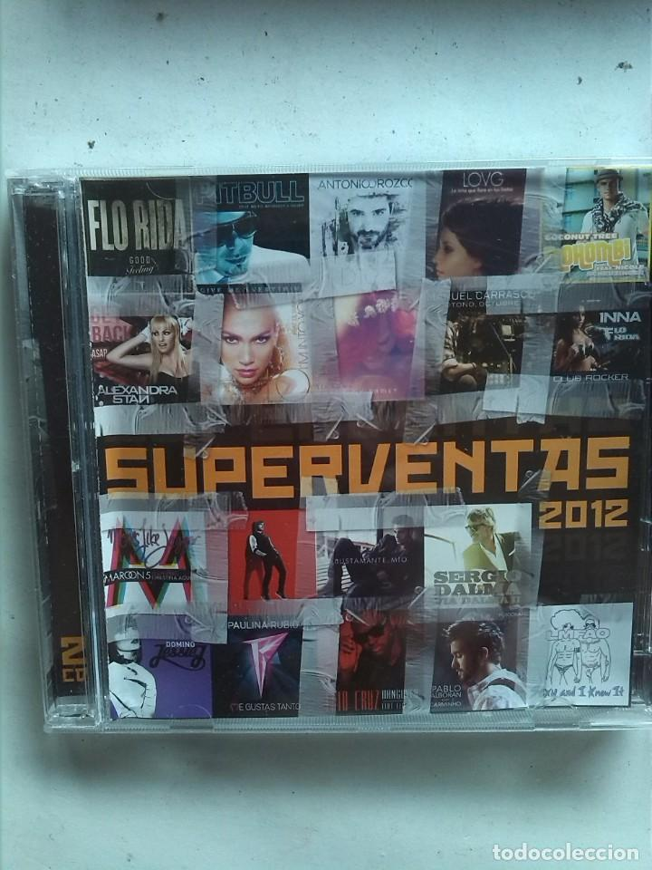 SUPERVENTAS 2012 2 CDS (Música - CD's Otros Estilos)