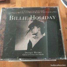 CDs de Música: BILLIE HOLIDAY - DEJAVU RETRO GOLD COLLECTION - CD DOBLE RETRO 2001. Lote 170400244