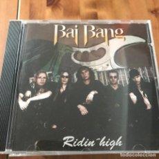 CDs de Música: BAI BANG - RIDIN' HIGH - CD AVISPA 1996. Lote 170402048