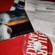 CDs de Música: HILARIO CAMACHO UNA MIRADA DIFERENTE CD 2006 FACTORIA AUTOR + HOJAS PROMOCIONALES MUY RARO!. Lote 244475570