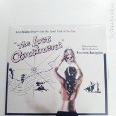 CDs de Música: THE LOST CONTINENT FRANCESCO LAVAGNINO ( 2018 DOL ) MINI REPLICA EXCELENTE ESTADO. Lote 170410686