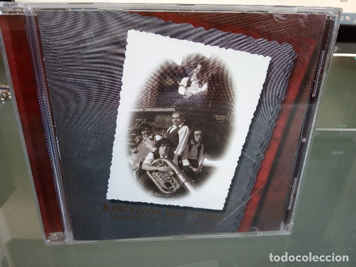 CDs de Música: CD BARCELONA HOT ANGELS - Añorando Las Horas Pasadas / 1ª Edición 1998 JAZZ BLUES / MUY RARO!!!!!!!! - Foto 2 - 170423600